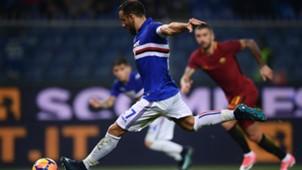 Quagliarella Sampdoria Roma Serie A