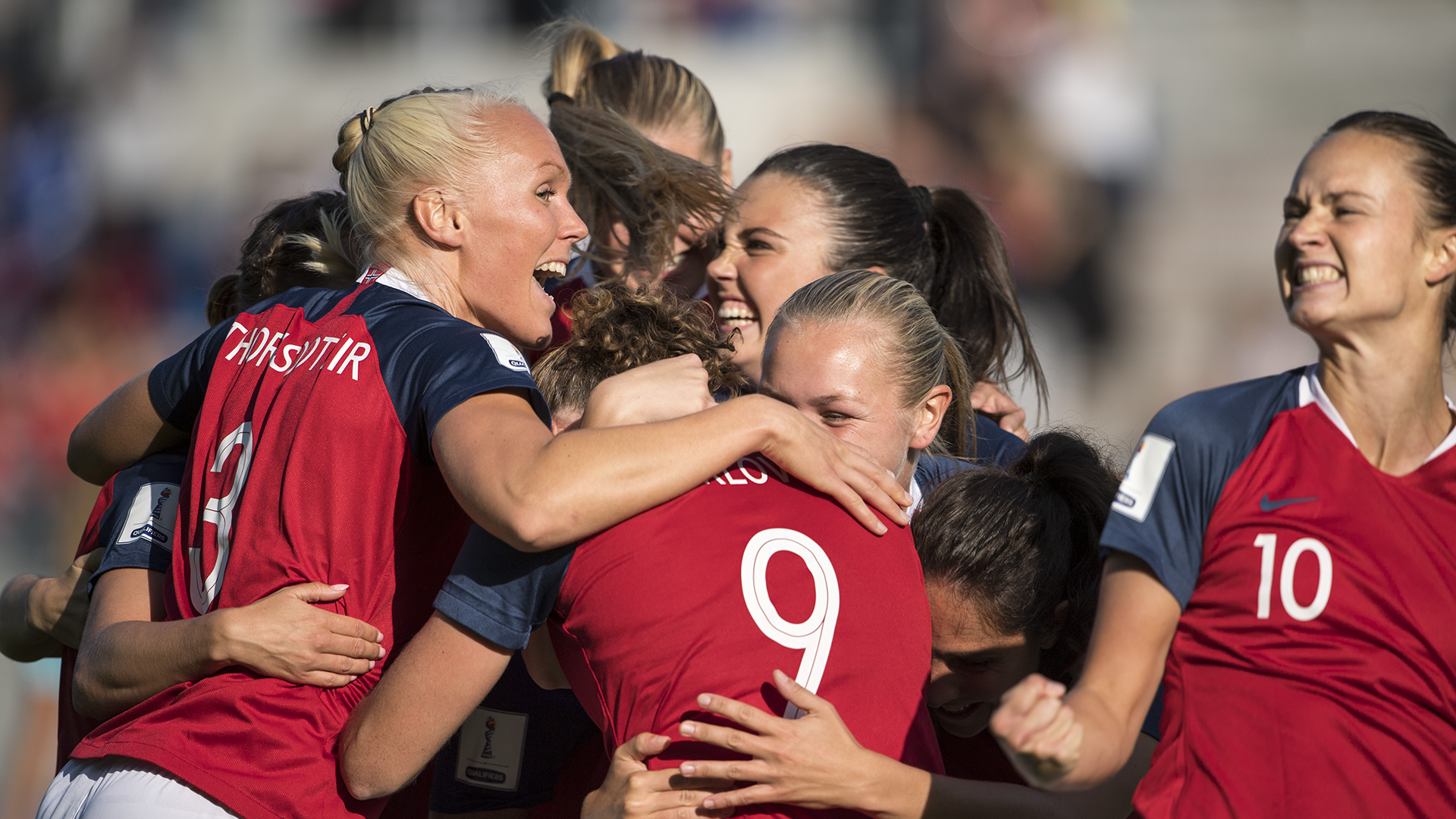 Norway women's national team 2018