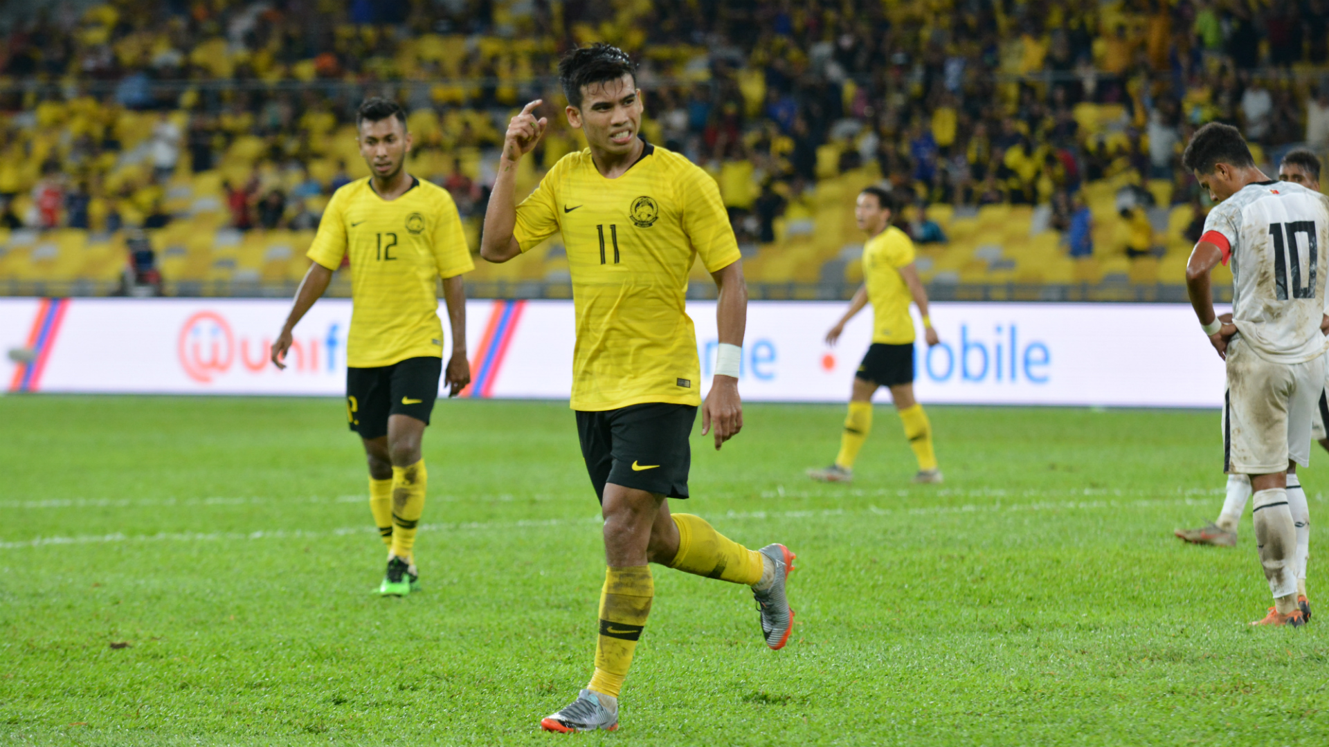 Safawi Rasid, Malaysia v Timor Leste, 2022 World Cup Qualification, 7 Jun 2019