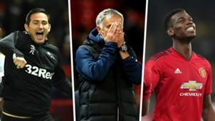 Lampard, Mourinho, Pogba