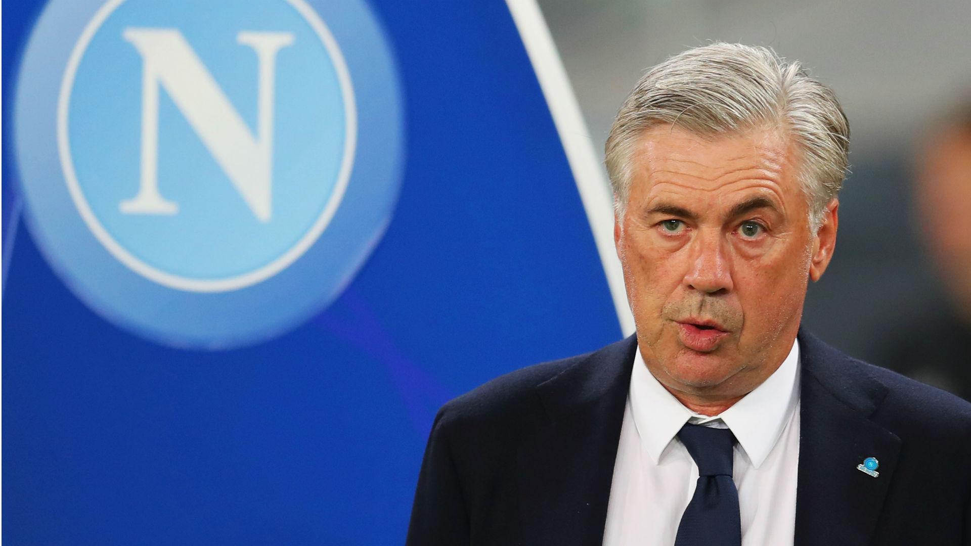 Carlo Ancelotti Napoli Liverpool Champions League