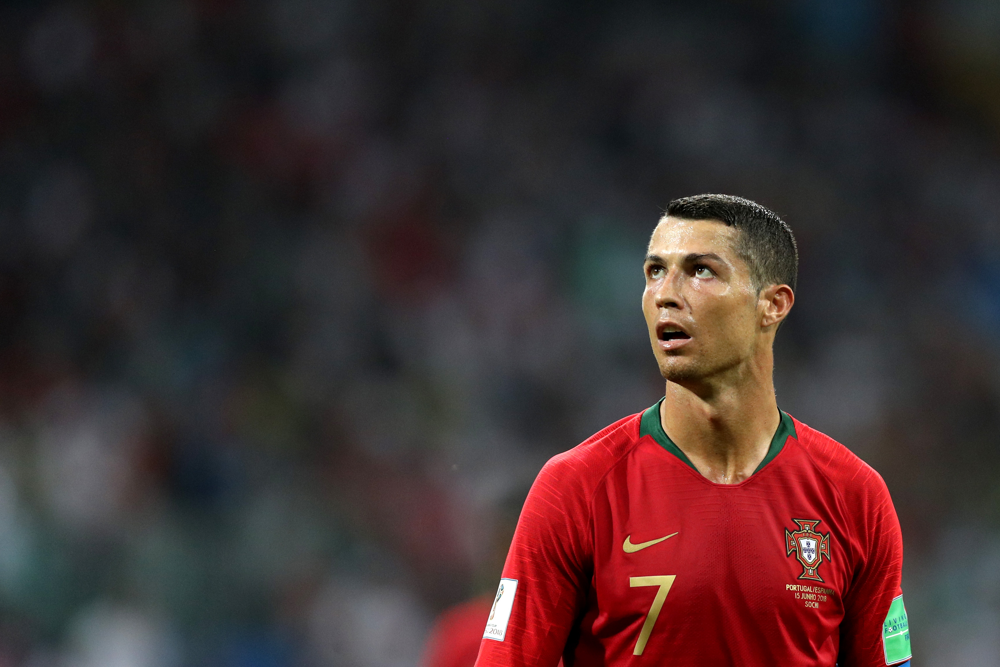 Cristiano Ronaldo Spain Portugal World Cup 2018