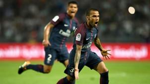 Daniel Alves Thiago Silva Monaco PSG Trophee des Champions 29072017