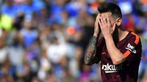 Lionel Messi Getafe Barcelona LaLiga 16092017