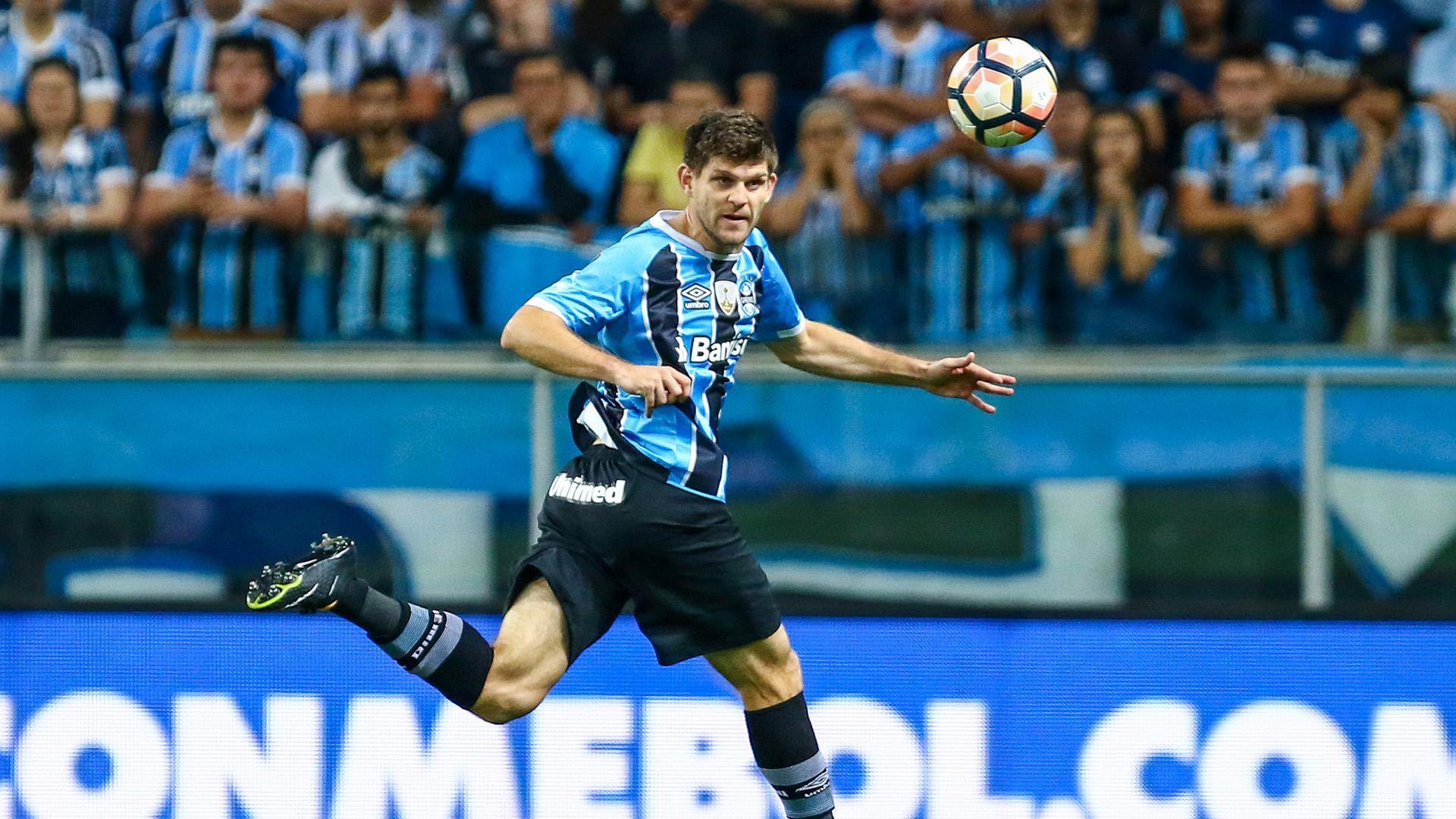 Walter Kannemann Gremio Barcelona SC Copa Libertadores 01112017