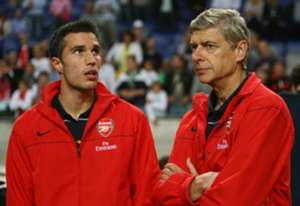 Wenger and van Persie