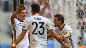 Julian Draxler Mario Gomez Thomas Muller Germany Slovakia Euro 2016