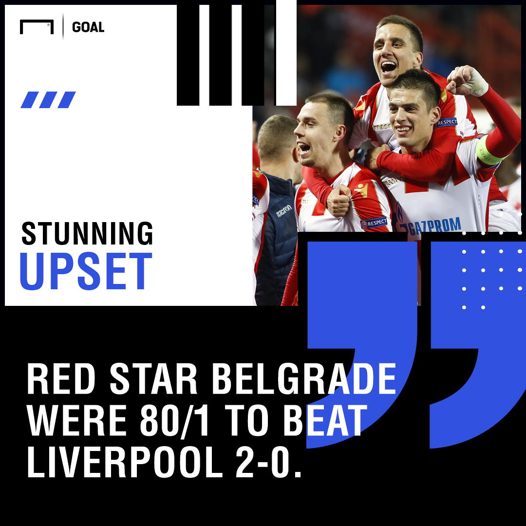 Red Star Liverpool upset graphic