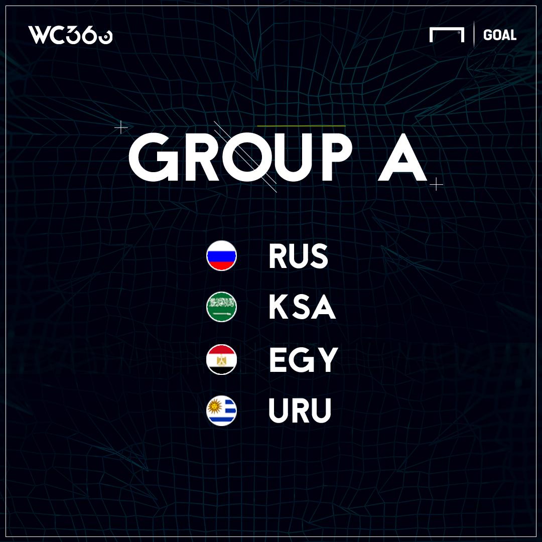 ロシアW杯グループA