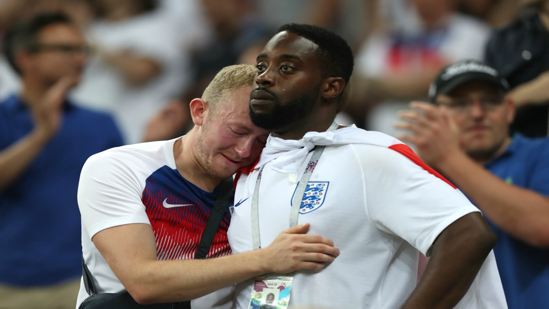 England fans england Croatia