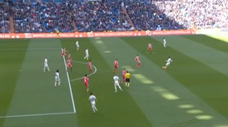 Gol anulado a Marcelo Real Madrid Girona LaLiga
