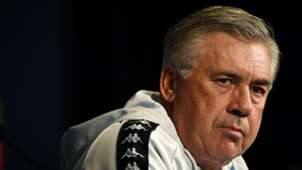 Carlo Ancelotti PSG Napoli press conference