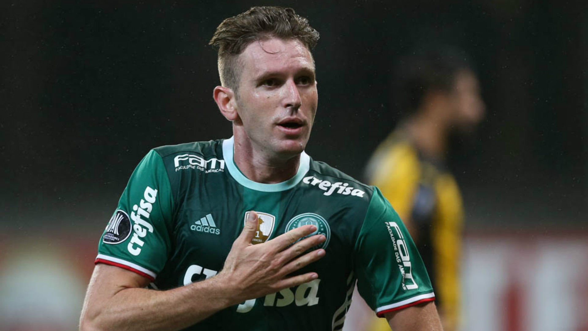 Fabiano - Palmeiras x Peñarol - 12/04/2017
