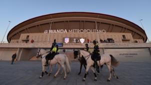 Policía Atlético de Madrid Wanda Metropolitano