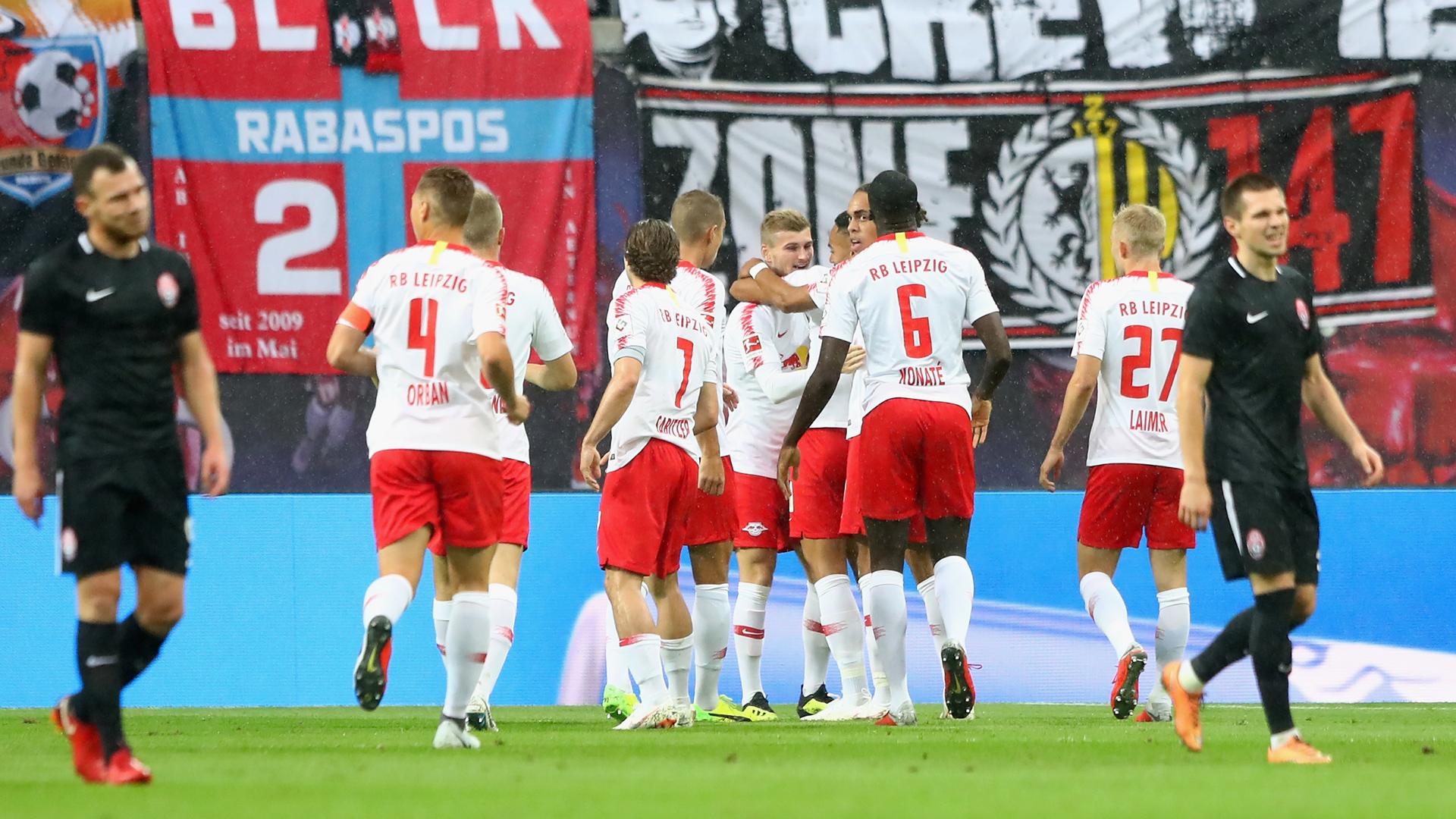 RB Leipzig Sorja Luhansk 30082018