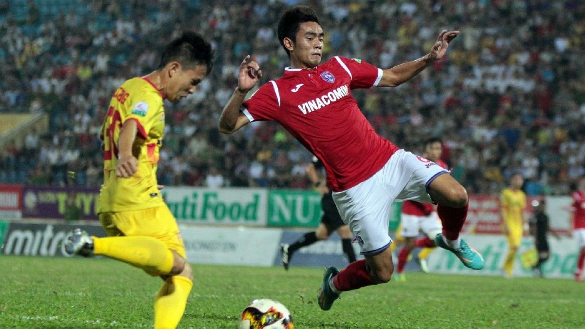 Nam Định Than Quảng Ninh Vòng 15 V.League 2018