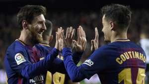 Lionel Messi Philippe Coutinho Barcelona