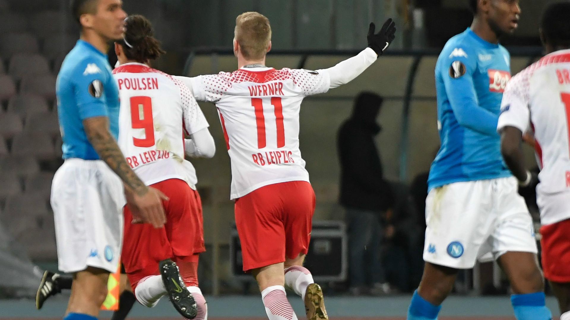 Napoli Leipzig Europa League 15022018