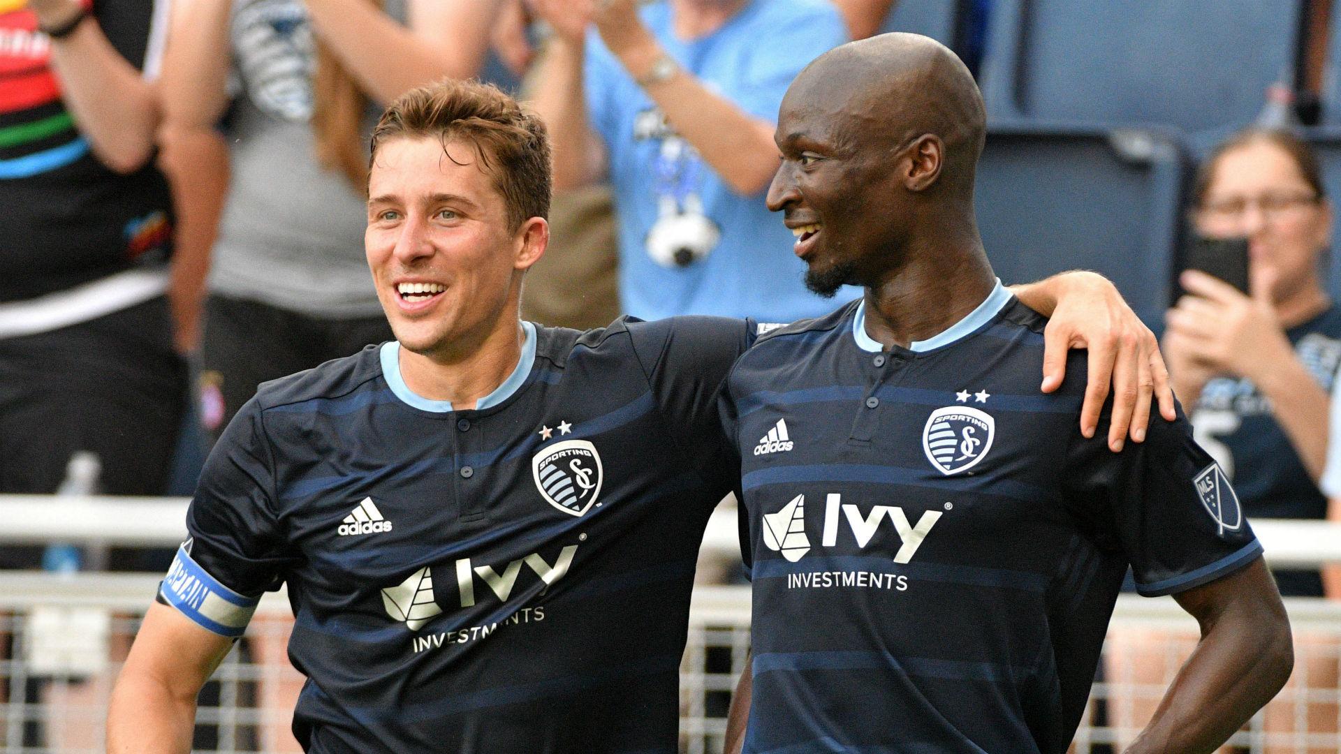 Matt Besler Ike Opara Sporting KC MLS