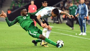 Wilfred Ndidi vs Argentina.
