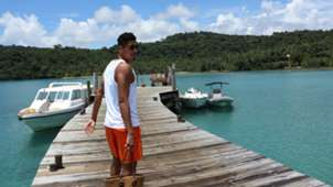 Chris Smalling Vacation Thailand
