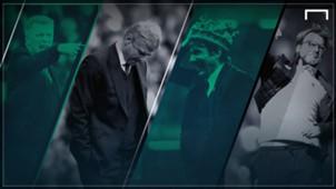 David Moyes Arsene Wenger Antonio Conte Jurgen Klopp