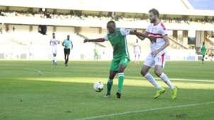 Gor Mahia striker Jacques Tuyisenge v Zamalek