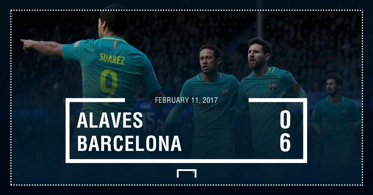 Alaves Barca graphic