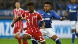 Weston McKennie Kingsley Coman FC Schalk 04 Bayern Munchen Bundesliga 19092017
