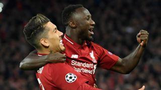 Roberto Firmino, Naby Keita, Liverpool vs Porto, UCL 2018-19