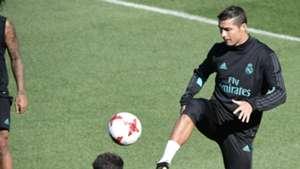 Cristiano Ronaldo Real Madrid training session
