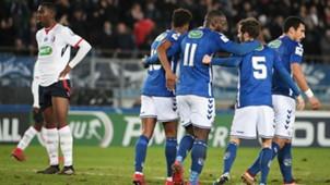 Strasbourg Lille Coupe de France 25012018