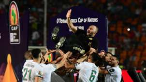 الجزائر بطل أفريقيا 2019