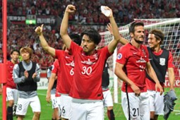 Urawa Red Diamonds vs Jeju United celebration