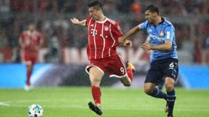 Dragovic, Lewandowski, Leverkusen - Bayern München, 08172017