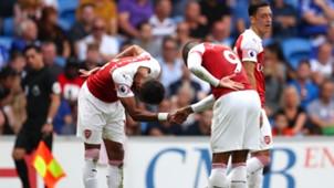 FC Arsenal Aubameyang Lacazette 02092018