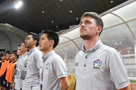 Image result for มาร์คเชื่อช้างศึก U19 ได้ประสบการณ์จากเกมแพ้อินโด 3-0
