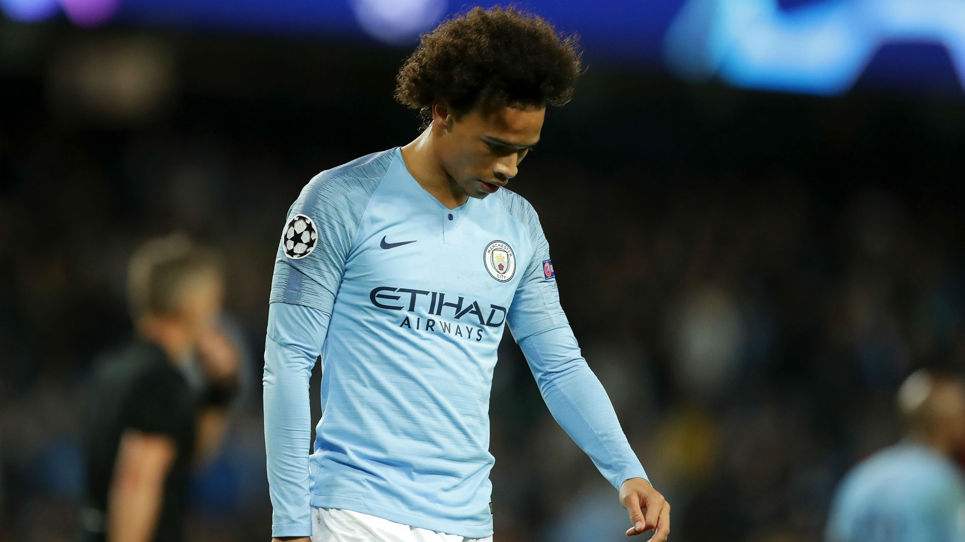 Leroy Sane Manchester City Champions League 2018