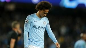 Leroy Sane Manchester City Champions League 2018