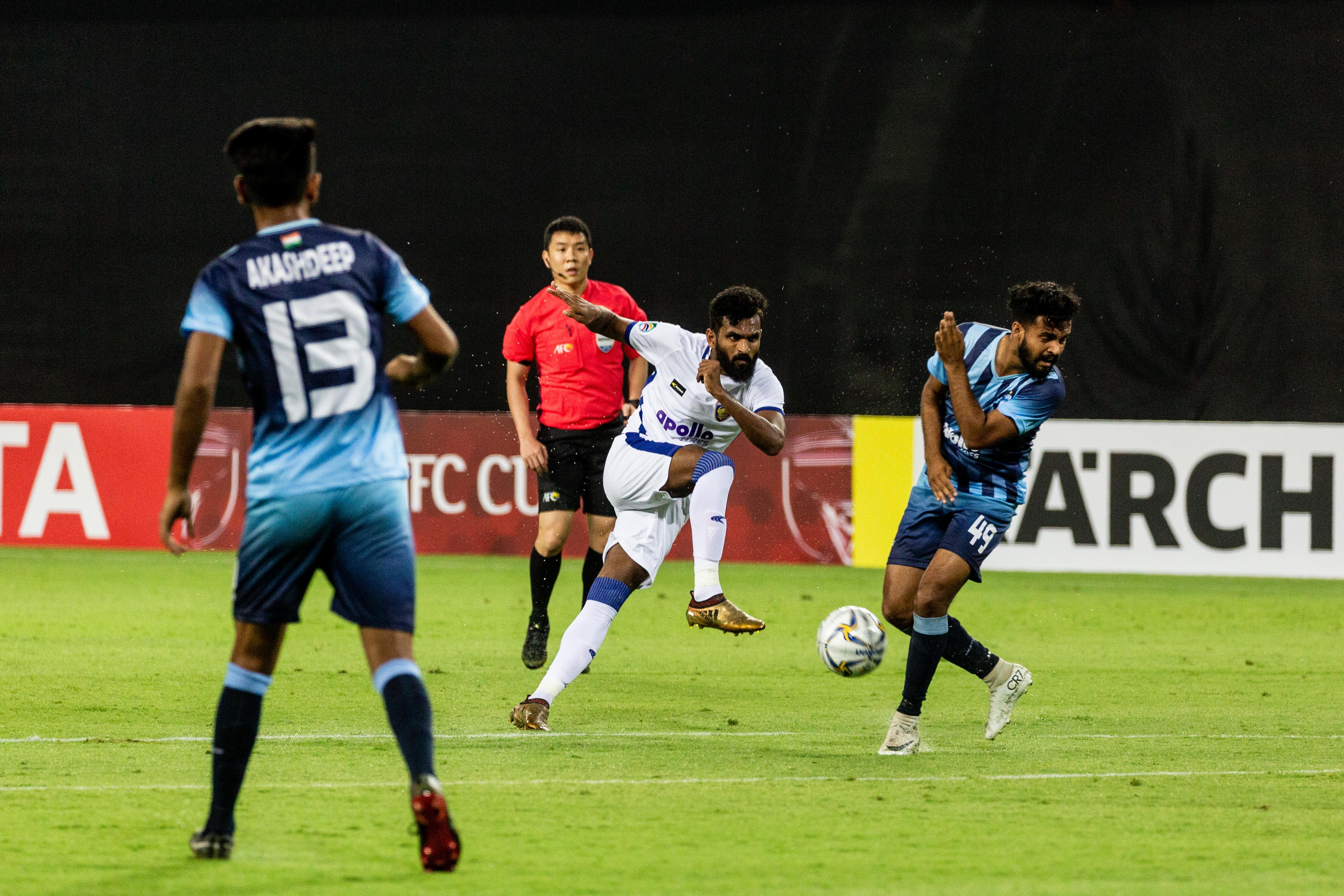 Chennaiyin vs Minerva AFC Cup 2019