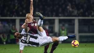 Simone Zaza Giorgio Chiellini Torino Juventus Serie a