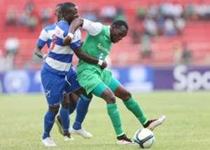 Meddie Kagere of Gor Mahia v AFC Leopards