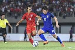 ทีมชาติเมียนมา รุ่นอายุไม่เกิน 23 ปี - ทีมชาติไทย รุ่นไม่อายุไม่เกิน 23 ปี