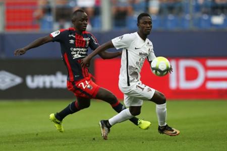 Adama Mbengue Ablie Jallow Caen Metz Ligue 1 26082017