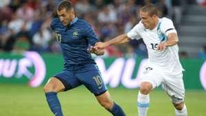 Karim Benzema Diego Perez France Uruguay 2012