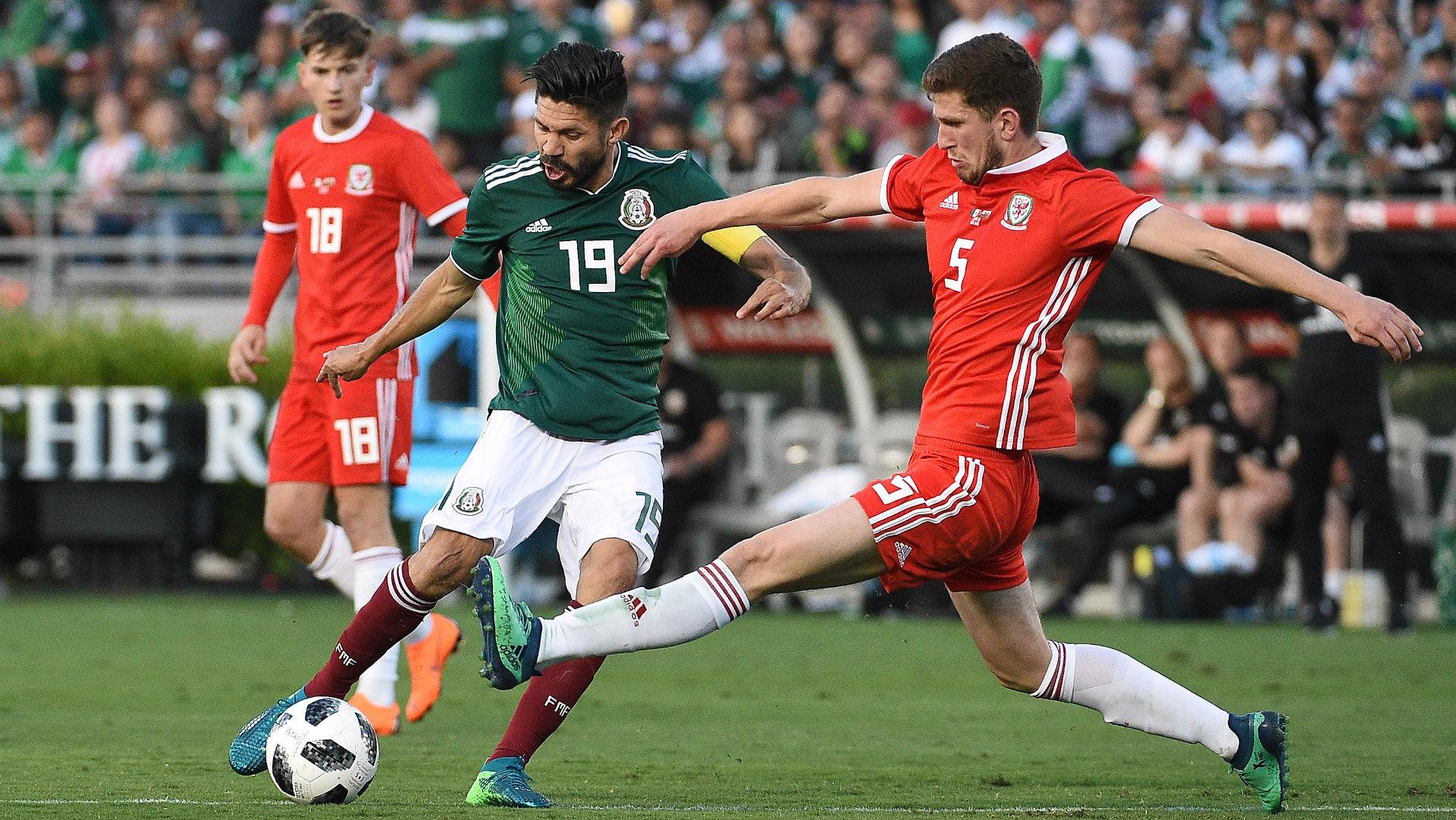 Oribe Peralta Selección Mexicana 2018