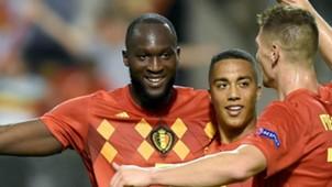 Romelu Lukaku Belgium 2018