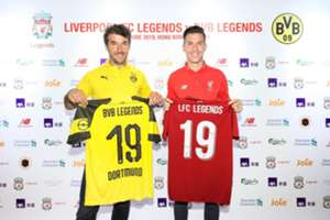 Liverpool and Dortmund legend team will have a friendly game in Hong Kong Stadium in 8 th June.