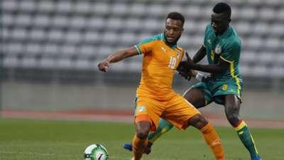 Cheik Doukoure Ivory Coast Senegal Friendly 03272017