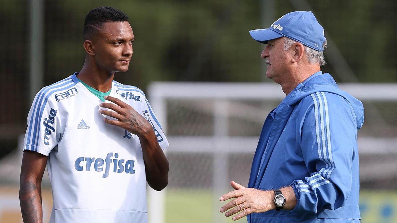 Luan Cândido Felipão Palmeiras 2019